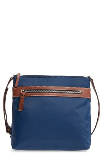 Halogen Nylon Crossbody Bag - Blue