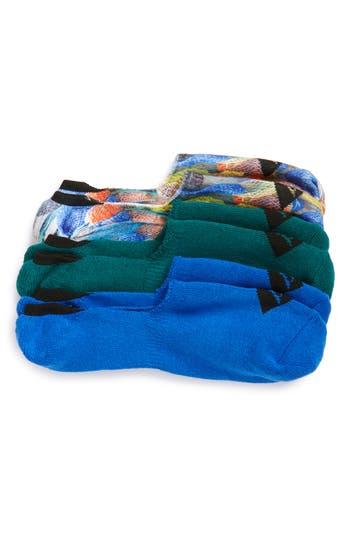 Men's Sperry 3-Pack Print Liner Socks