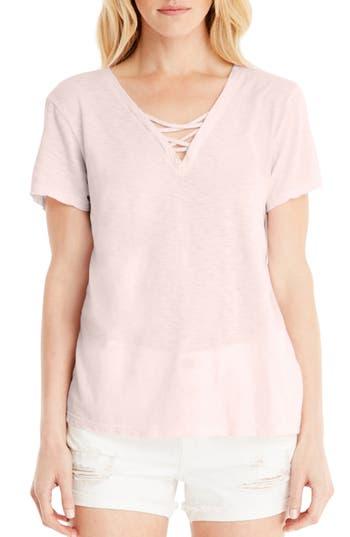 Michael Stars Supima Cotton Tee, Size One Size - Pink