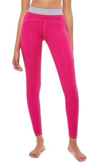 Ivy Park Logo Elastic Ankle Leggings, Pink