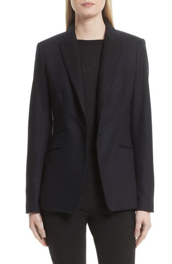 Women's Rag & Bone Duke Wool Blend Blazer