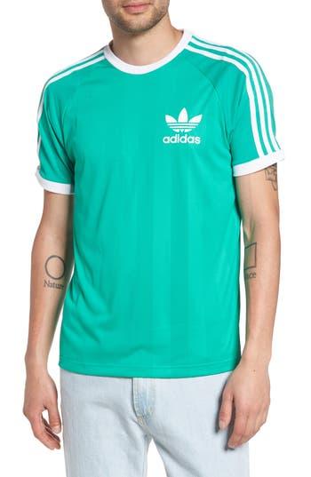 Men's Adidas Originals Clfn T-Shirt, Size Medium - Green