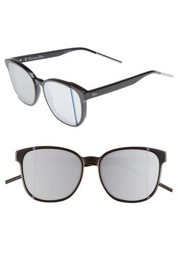 Women's Dior Dior Steps 55Mm Sunglasses - Black