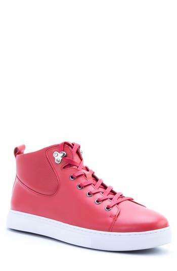Men's Badgley Mischka Sanders Sneaker, Size 8 M - Red