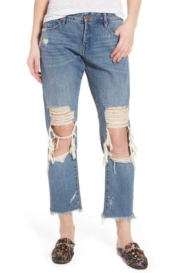 Women's Blanknyc Ripped Girlfriend Jeans