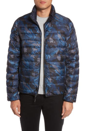 Tumi Reversible Down Jacket, Blue