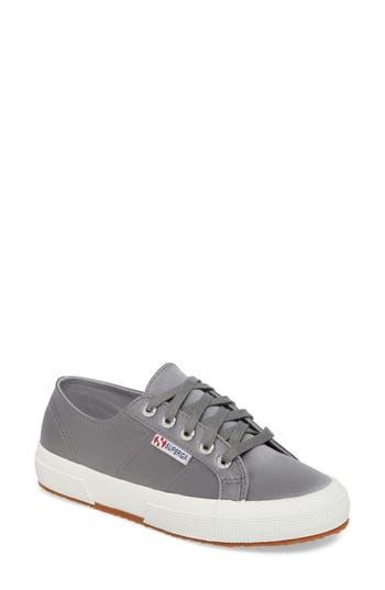 Superga Satin Sneaker, Grey