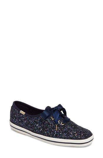 Keds For Kate Spade New York Glitter Sneaker, Blue