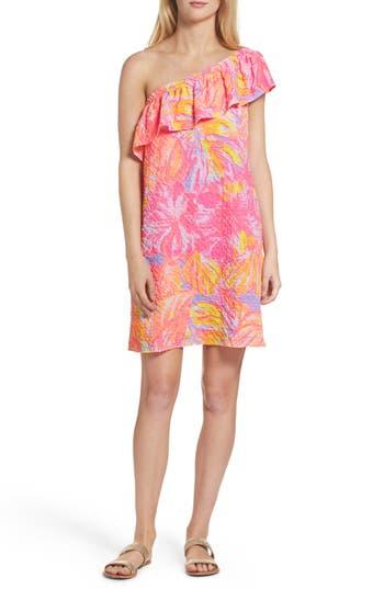 Women's Lilly Pulitzer Emmeline One-Shoulder Dress