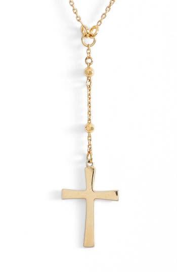 Women's Argento Vivo Station Cross Choker Necklace