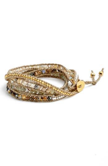 Women's Chan Luu Beaded Wrap Bracelet