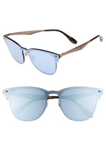 Women's Ray-Ban 52Mm Mirrored Sunglasses - Copper