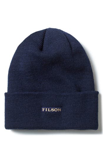 Men's Filson Wool Cap - Blue
