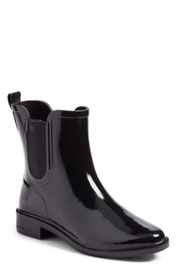 Tory Burch Stormy Chelsea Rain Bootie, Black