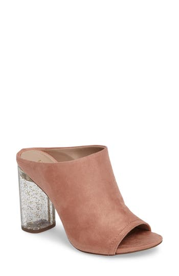 Women's Bcbg Renee Block Heel Mule, Size 5 M - Pink