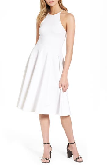 Women's Soprano Knit Midi Dress, Size X-Small - White