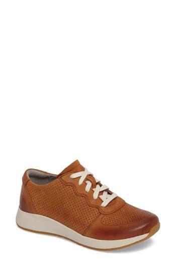 Dansko Christina Sneaker-6- Brown