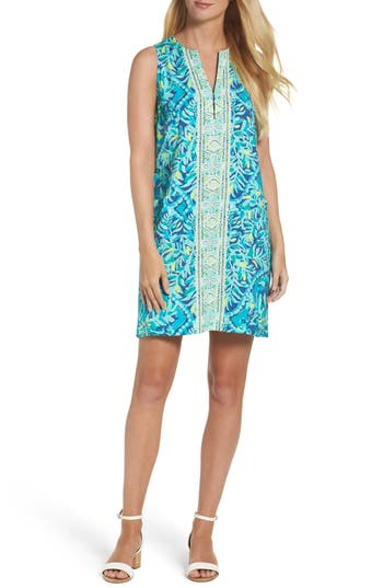 Lilly Pulitzer Kelby Shift Dress, Blue