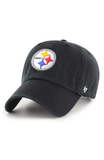 47 male mens 47 clean up nfl baseball cap black