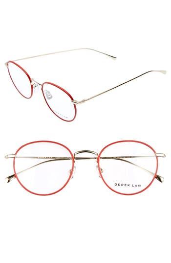 Derek Lam 50Mm Optical Glasses - Red