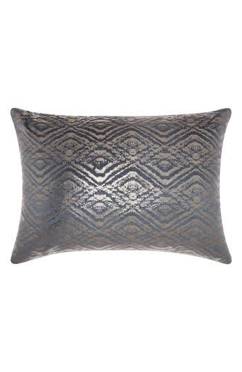 Mina Victory Metallic Diamonds Accent Pillow, Size One Size - Blue