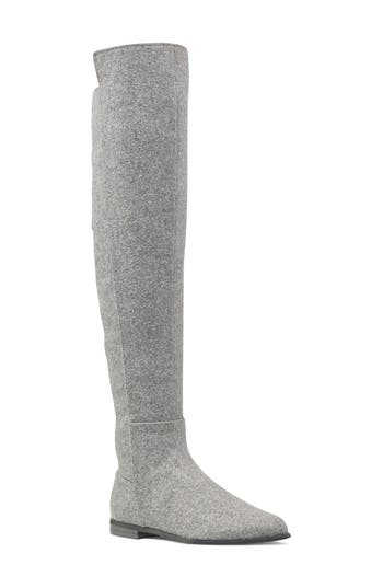 Nine West Eltynn Over The Knee Boot, Grey