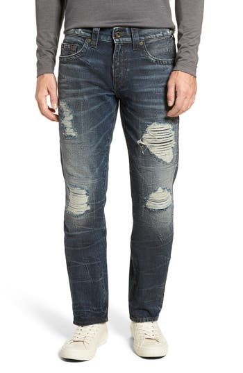 True Religion Brand Jeans Geno Straight Fit Jeans, Blue