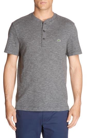 Lacoste Henley T-Shirt, (m) - Green