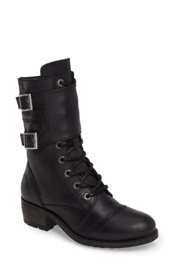 Bos. & Co. Lune Moto Boot - Black