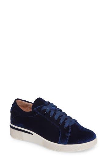 Gentle Souls Haddie Low Platform Sneaker- Blue