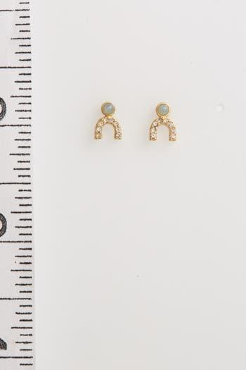 Women's Madewell Tiny Jewels Stud Earrings