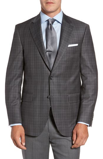 Men's Peter Millar Windowpane Wool Blazer
