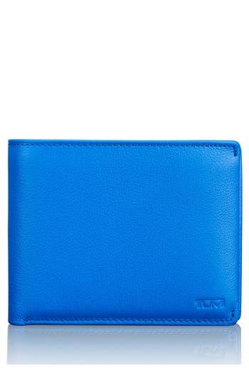 Tumi Global Passcase Wallet - Blue