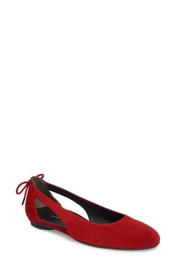 Paul Green Maureen Cutout FlatUS / 5UK - Red