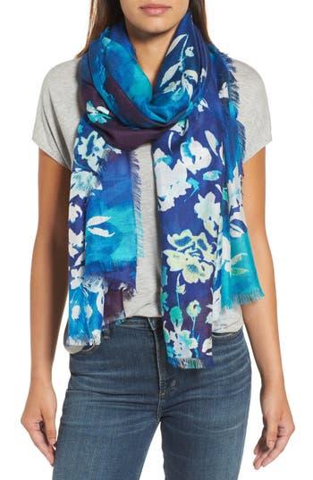 Women's Nordstrom Musical Flower Cashmere & Silk Scarf