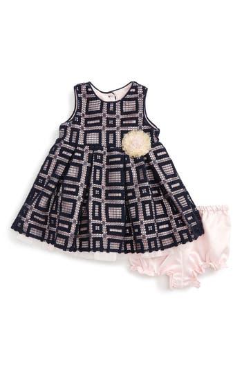 Infant Girl's Pippa & Julie Lace Fit & Flare Dress