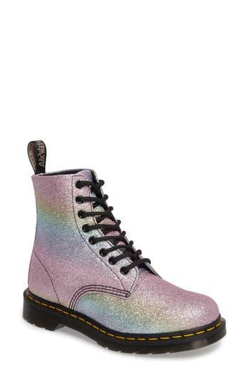 Dr. Martens Pascal Glitter Boot, Metallic