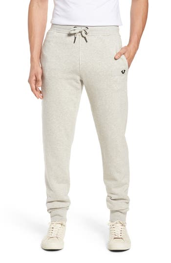 True Religion Brand Jeans Horseshoe Sweatpants, Grey