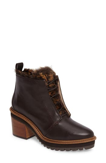 Kelsi Dagger Brooklyn Patterson Bootie- Brown