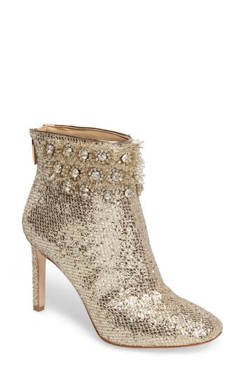 Women's Imagine Vince Camuto Lura Crystal Flower Bootie