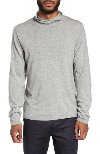 Zachary Prell Hess Wool Turtleneck Sweater, Grey