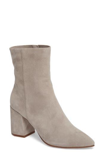 Linea Paolo Bobby Pointy Toe Boot, Grey