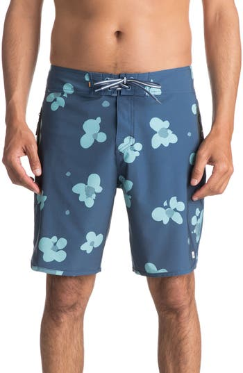 Quiksilver Waterman Collection Pelai Board Shorts, Blue