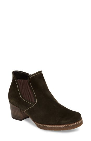 Gabor Trendy Bootie, Green