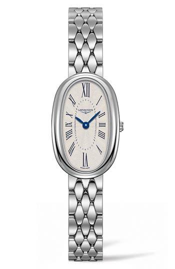 Women's Longines Symphonette Bracelet Watch, 18.9Mm X 29.4Mm