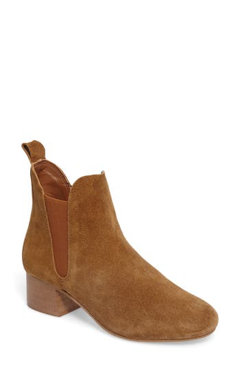 Topshop Barley Chelsea Boot - Brown
