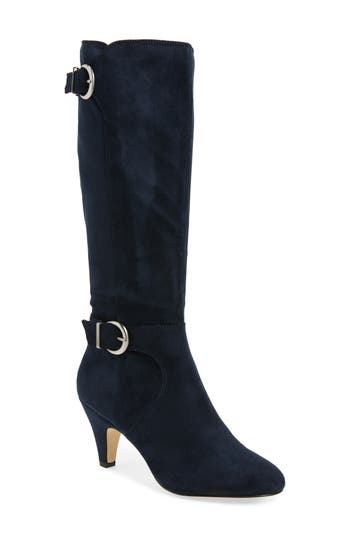 Bella Vita Toni Ii Knee High Boot, Regular Calf- Blue