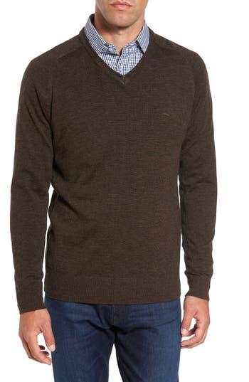 Rodd & Gunn Burfield Wool Sweater, Brown