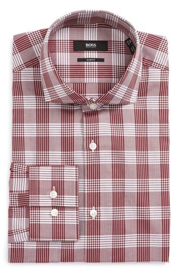 Men's Boss Jason Slim Fit Plaid Dress Shirt