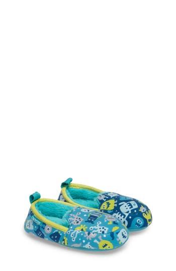 Toddler Chooze Slumber Slippers Size 78 M  Black